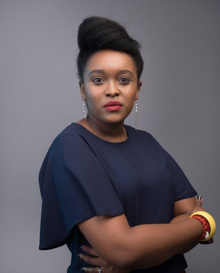 Mary Kamau. Founder, Telios Press.