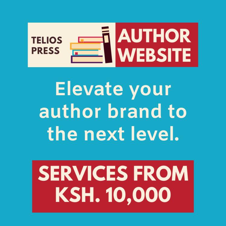 Telios Press Website Design For Authors