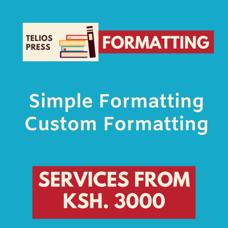 Telios Press Book Formatting
