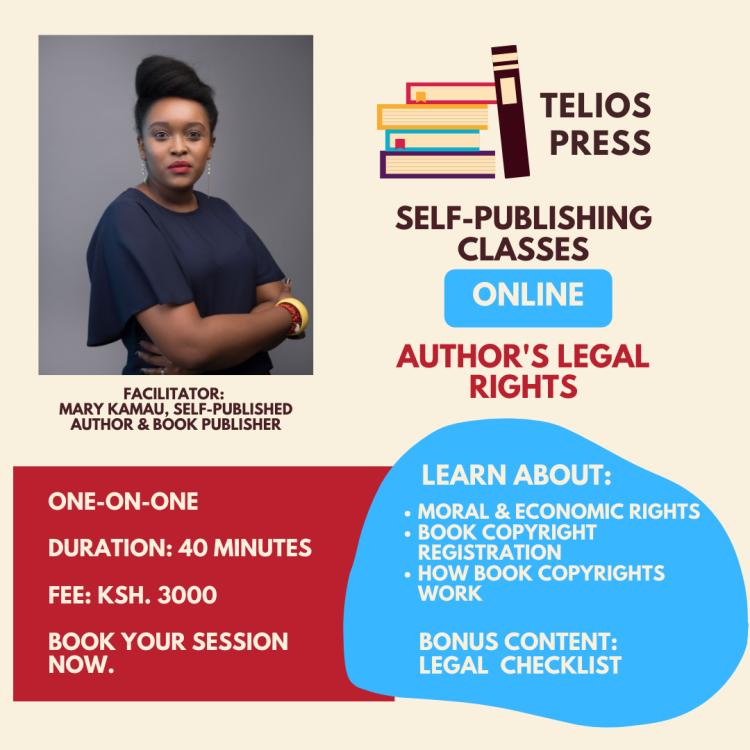 Telios Press Legal Training For Authors
