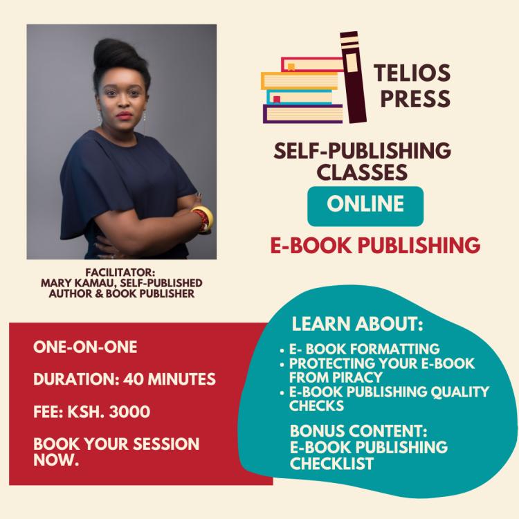 Telios Press E-Book Publishing Training For Authors
