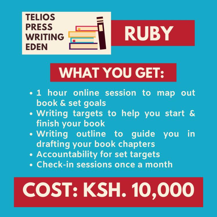 Telios Press Writing Eden | Writing Classes In Kenya